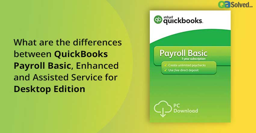 quickbooks enhanced payroll