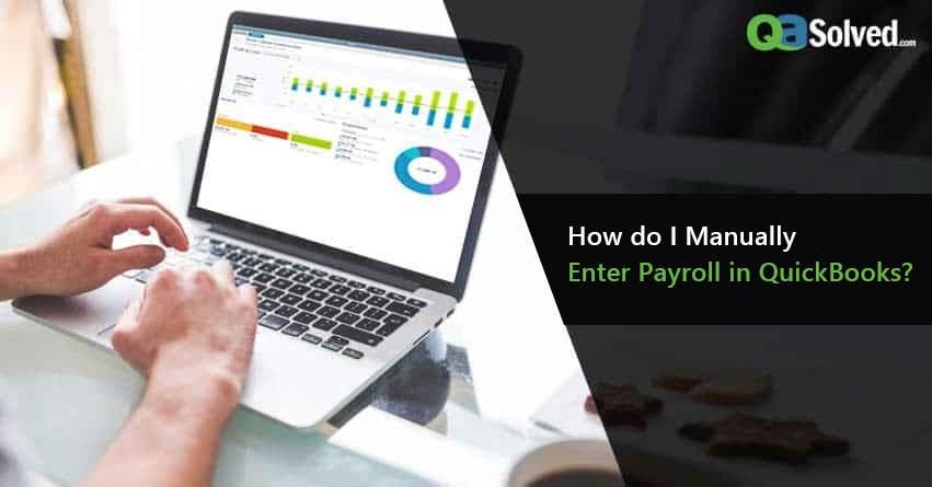 quickbooks manual payroll