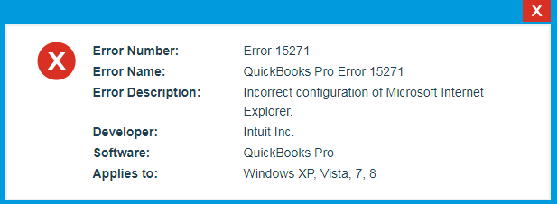 How to Troubleshoot \u0026 Resolve QuickBooks Error 15271 - QASolved.com