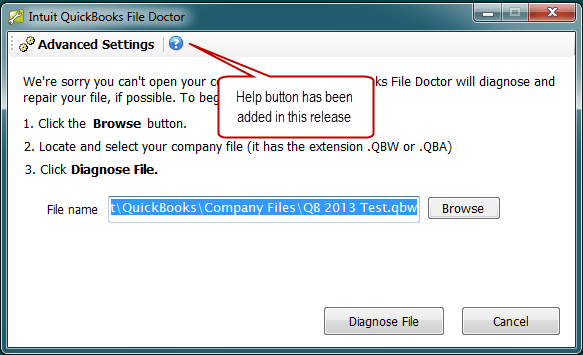 Update and Repair your QuickBooks