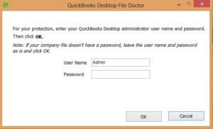enter the admin id and password
