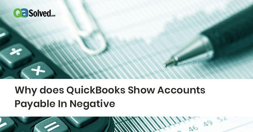 quickbooks accounts payable