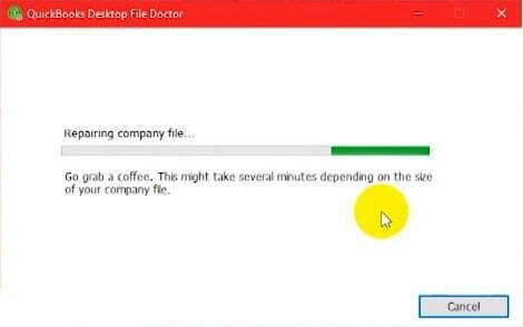 repairing company file in quickbooks desktop file doctor