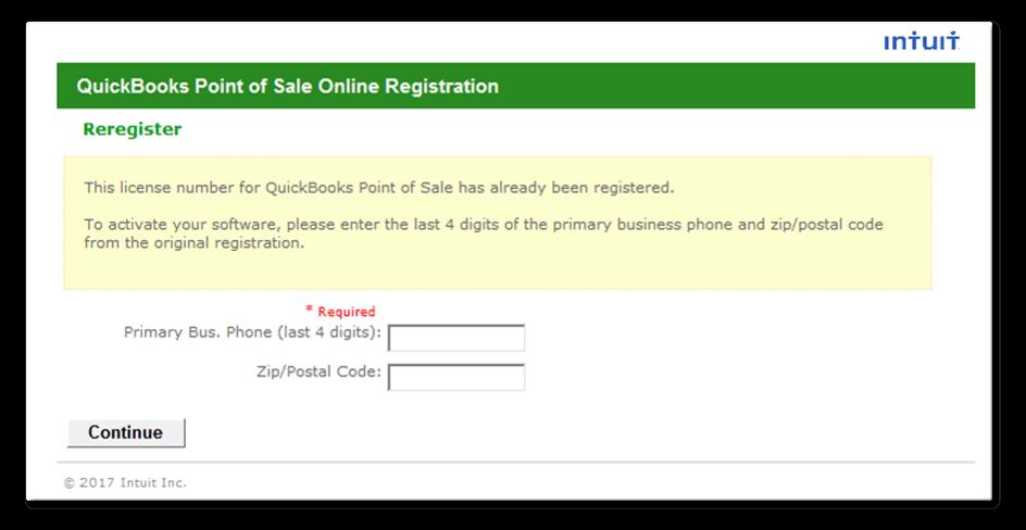 Activate QuickBooks Desktop Point of Sale