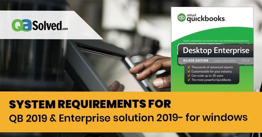 quickbooks desktop 2019