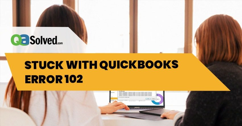 quickbooks error 102