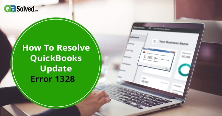 quickbooks error 1328