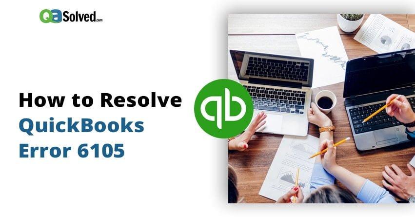 quickbooks error 6105