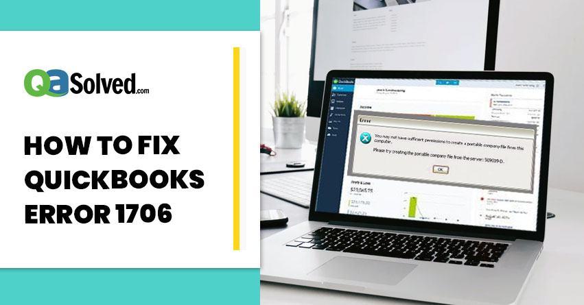 quickbooks pos error 1706