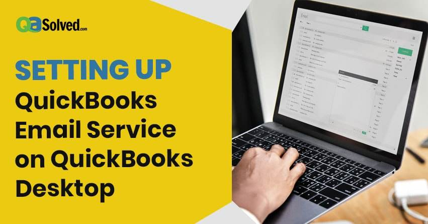 quickbooks email setup