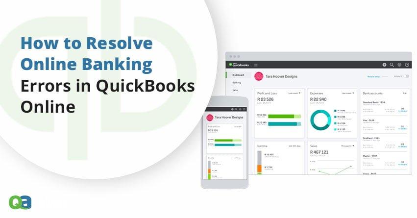 banking errors in quickbooks