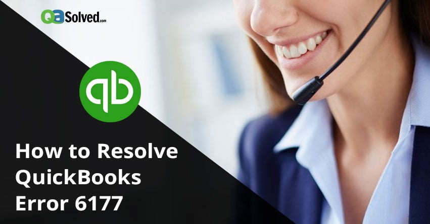 QuickBooks Error 6177