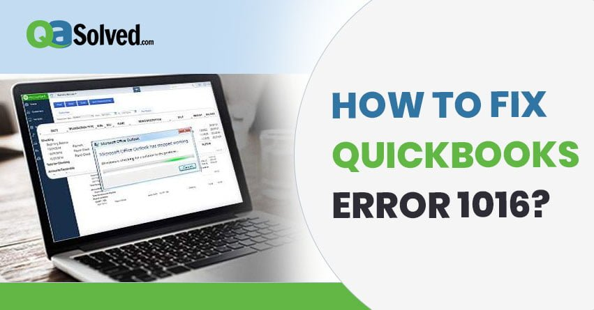 quickbooks error 1016