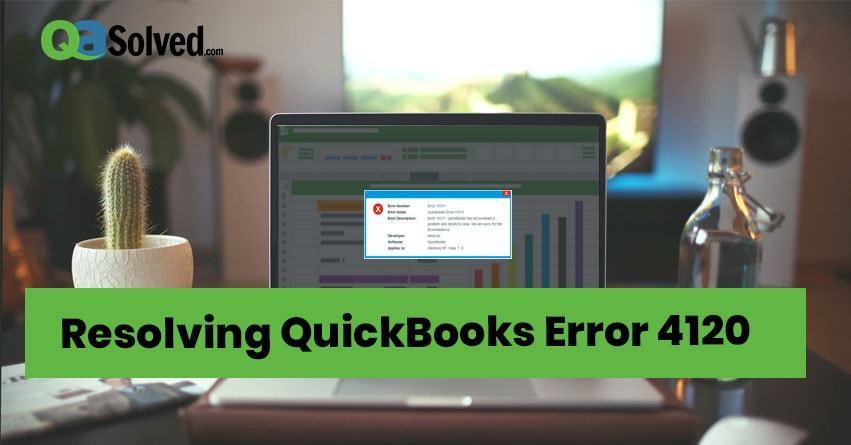 quickbooks error 4120