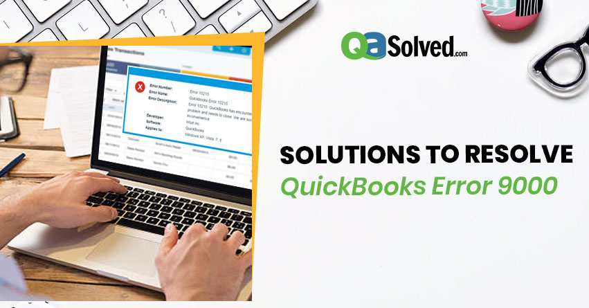 quickbooks error 9000