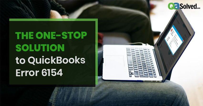 QuickBooks Error 6154