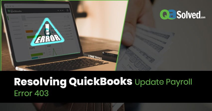 QuickBooks Update Payroll Error 403