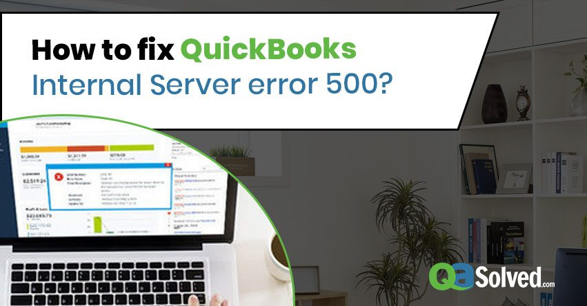 quickbooks error 500