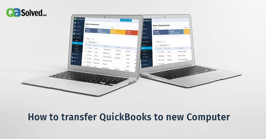 transfer quickbooks to new computer