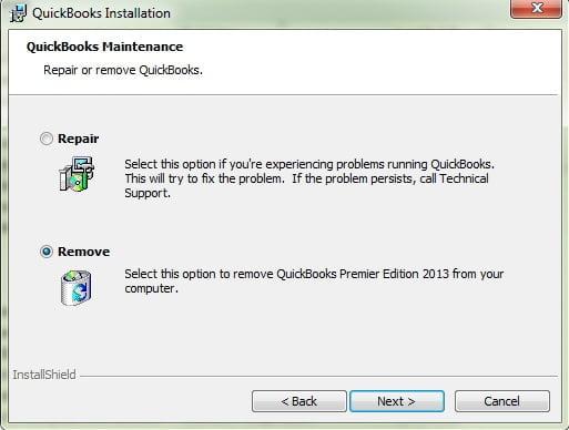 Un-Install QuickBooks Desktop