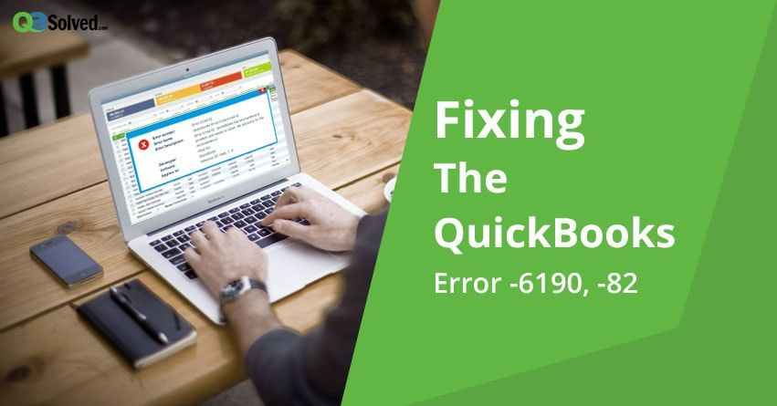 quickbooks error -6190, -82