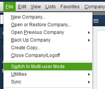 switching to multi user mode