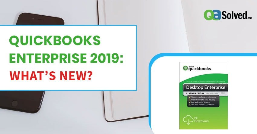 quickbooks enterprise 2019