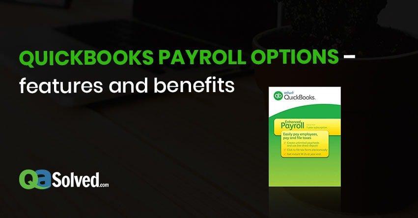 QuickBooks Payroll Options