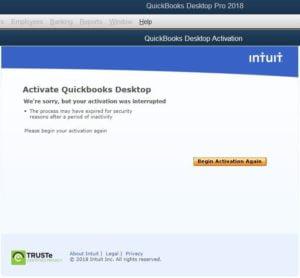Activate QuickBooks
