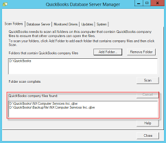 Configure QuickBooks Database Server Manager
