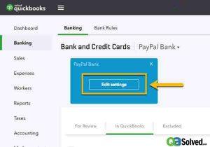 edit account info in quickbooks online