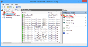 Update and configure firewall