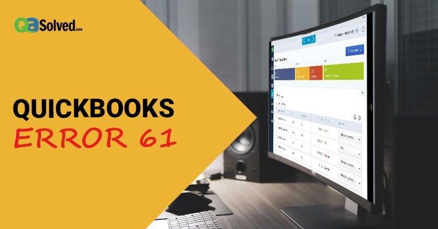 quickbooks error 61
