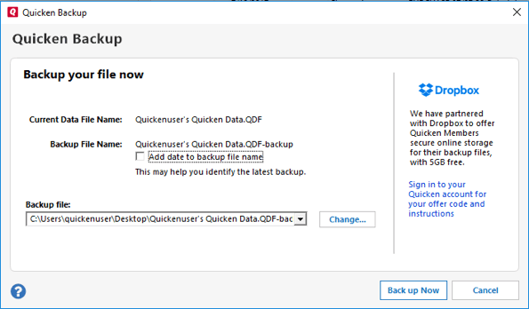 How to Backup or Restore Your Quicken Data? - QASolved