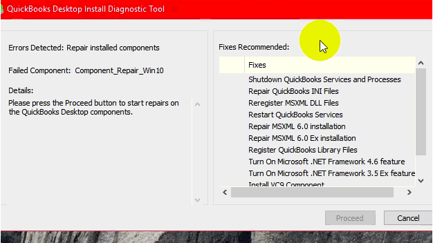 qb install diagnostic tool