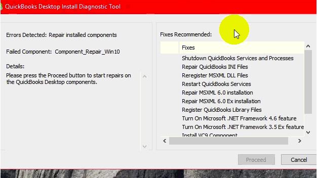 qb install diagnostic tool