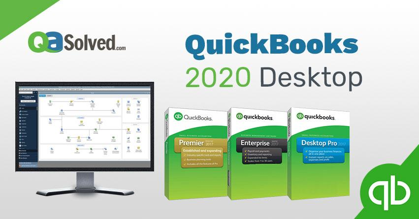 What's New in QuickBooks 2020 Desktop? - QASolved