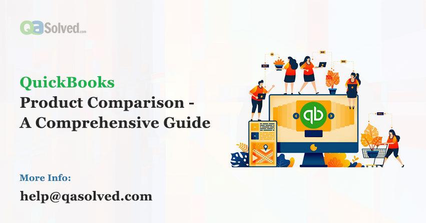 quickbooks product comparison