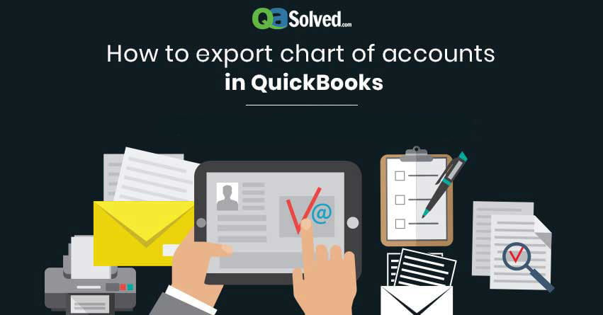 how to export chart of accounts in quickbooks