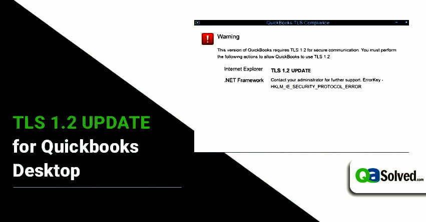 quickbooks tls 1.2