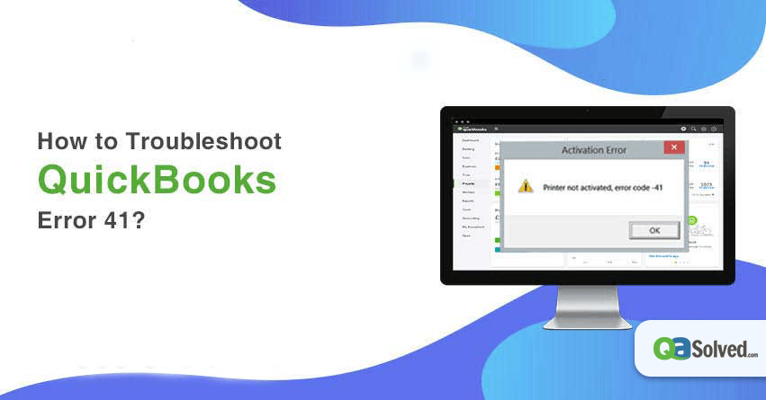 quickbooks error 41