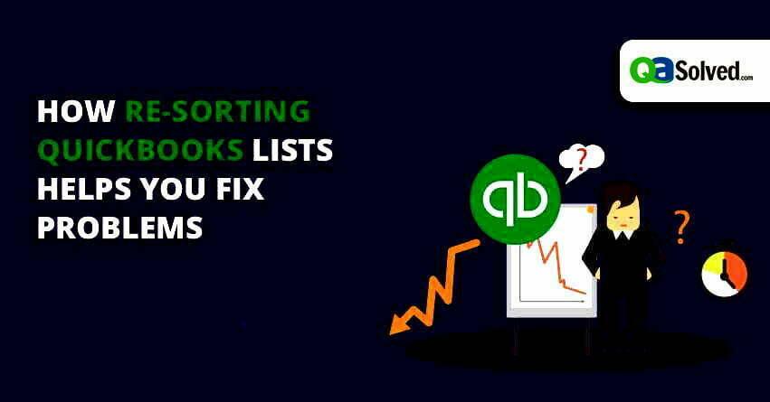 quickbooks lists
