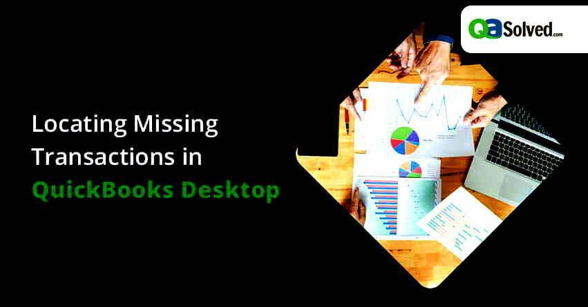 quickbooks missing transactions