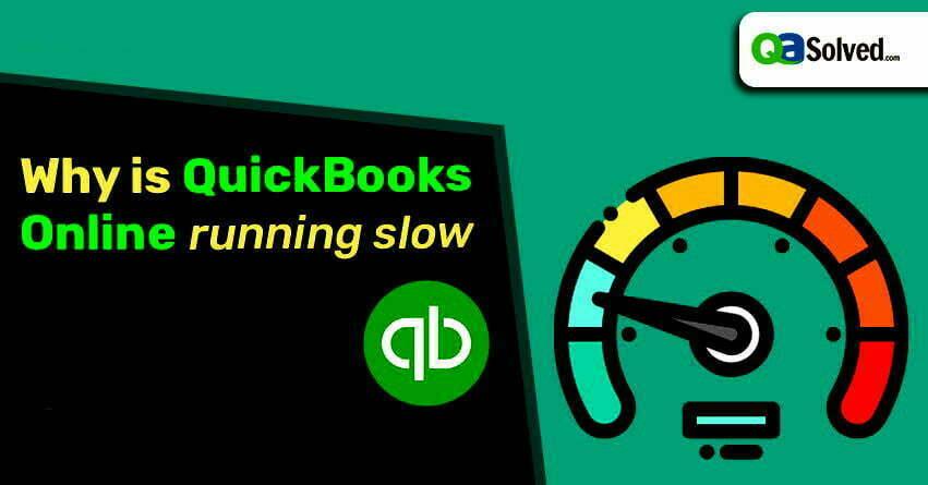 quickbooks online slow