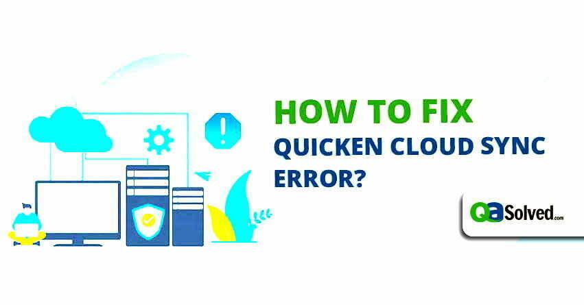 quicken cloud sync errors