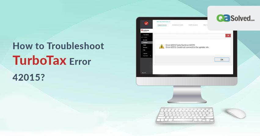 turbotax error 42015