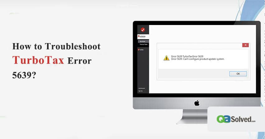 turbotax error 5639